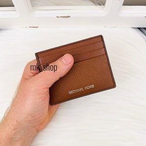 Michael Kors Men's Harrison Tall Card Case